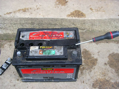 batterie moto sulfatee